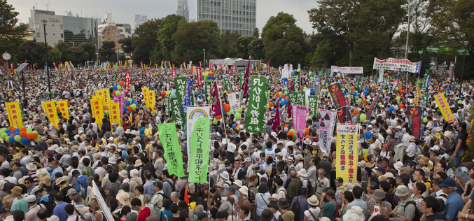Japan Being Pushed Into Revolt Over Fukushima Radiation