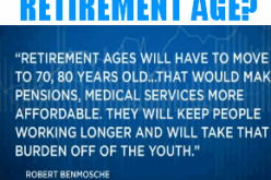 Wall Street CEO Wants 80 Year Old Retirement Age