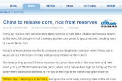China Admits To Food Inflation – 'Rationing Is In Full Force'