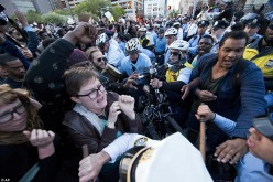 Philadelphia: Freddie Gray Protestors Clash With Police