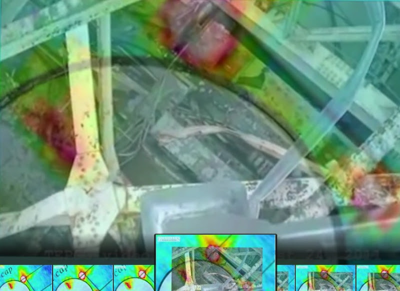 Fukushima Reactor Interior With Thermal Image
