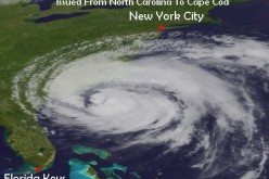 Hurricane Irene 8 Foot Storm Surge Warnings Issued Across, NC, VA, MD, DE, NJ, NY and MA