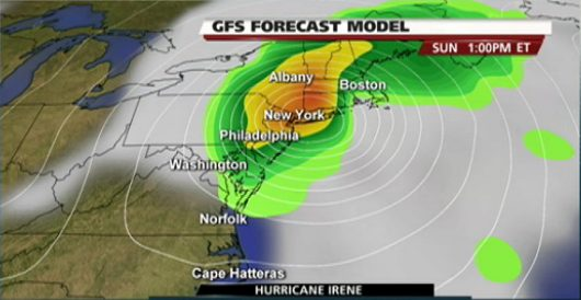 US-Hurricane-Irene-Landfall-Model