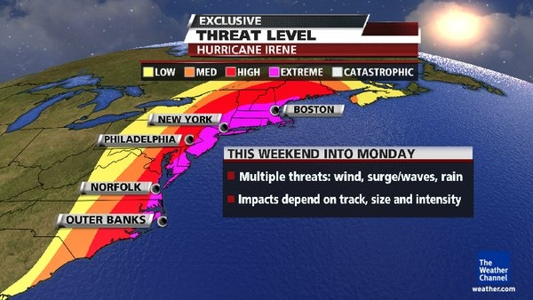 Current hurricane warnings