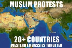 Muslim Protests Now Targeting Western Embassies In Over 20 Countries