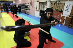 Iran Female Ninja Outrage 'We Are Athletes, Not Assassins'