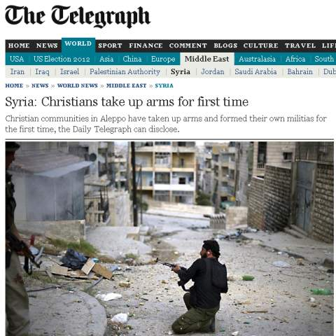 Syria-Christians-Form-Militias-To-Protect-Against-Terrorist-Rebels-480