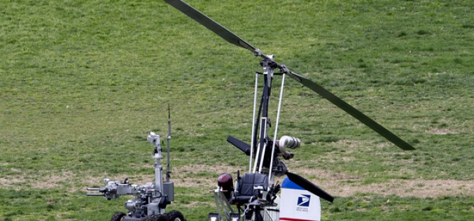 DHS Lands Helicopter On Lawn Of Agent Turned Whistleblower