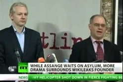 WikiLeaks Rift Emerges Amid Assange's Plea For Asylum