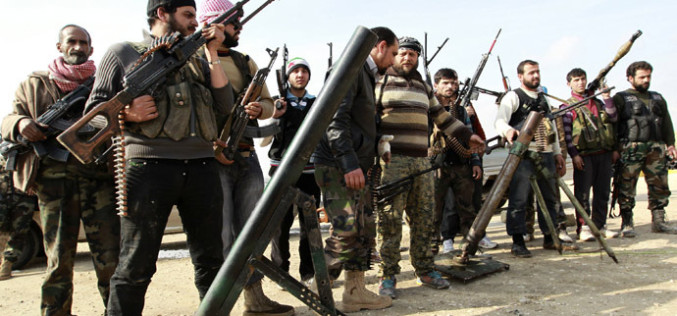 Secret Turkey Base Equips Syrian Rebel Terrorists