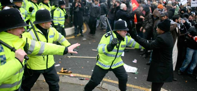 UK Police Brutality Rages At Olympic Opening Ceremony