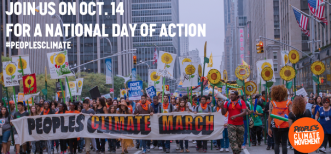 People's Climate Movement National Day Of Action October 14