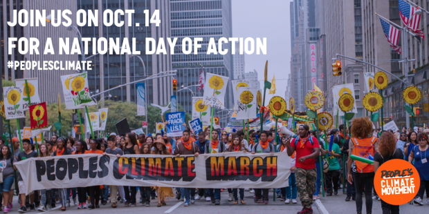 People's Climate Movement National Day Of Action, October 14