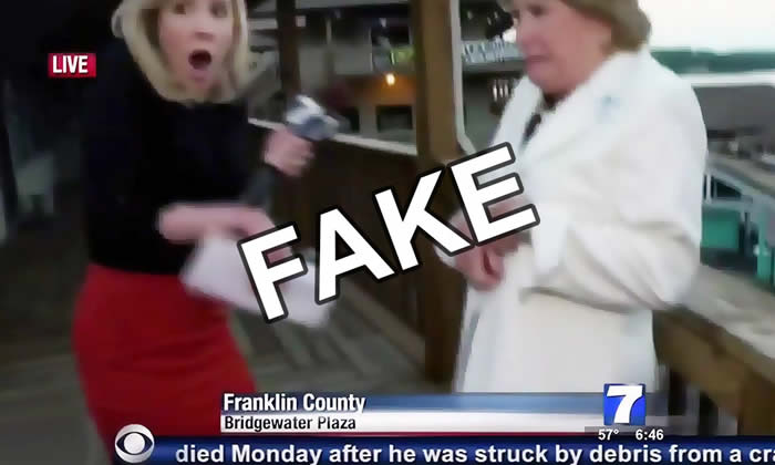 Virginia Reporter Shooting Hoax