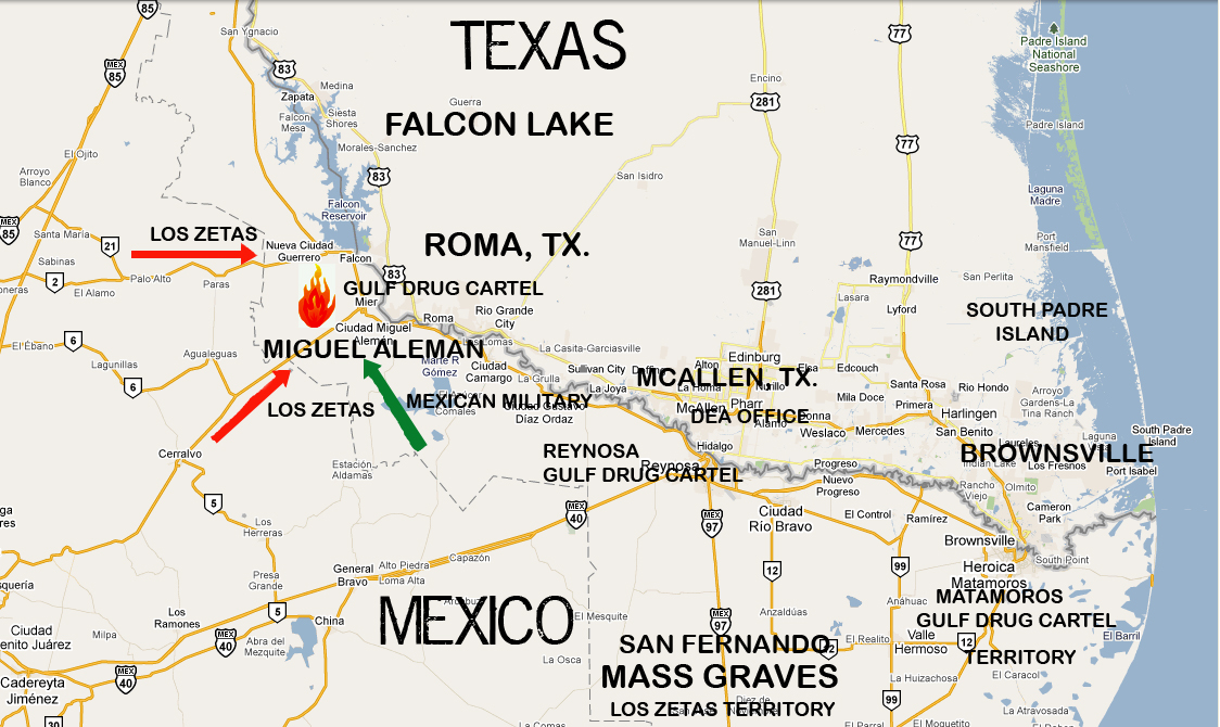 Map Of Texas Mexico.Map Of Texas Mexico Border Towns Twitterleesclub