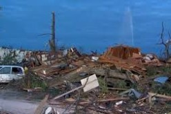 Storms obliterate parts of South