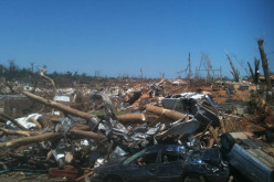 Scenes from a tornado disaster zone: 'It just gets worse and worse'