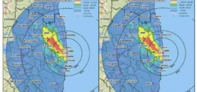 Radiation Levels Higher Than Chernobyl Evacuation Limits Span Over 800 Square KM in Japan