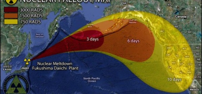 Demand Japan End The Cover Up Of Extremely High Radiation In The Pacific Ocean