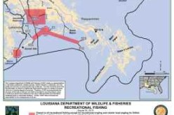 Alert: The last 862 square miles of fishing waters in Louisiana have reopened to recreational fishing.