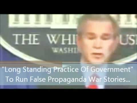 Bush admits it is long-standing US practice to run false propaganda war stories