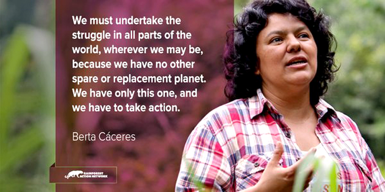 Honduras Activists Berta Cáceres and Nelson Garcia Assassinated - Called Out Hillary Clinton for Backing Honduran Coup