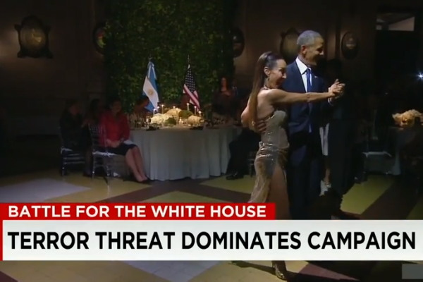 President Barack Obama Dances The Tango in Argentina While Rest Of World Goes To Sht