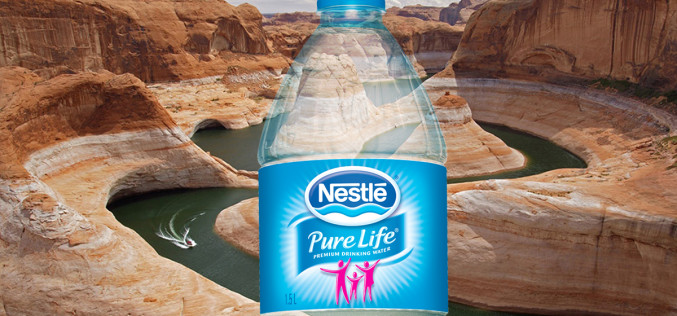 Nestle Continues Stealing World's Water During Drought