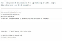 Podesta Emails – State Dept, AP Worked With Hillary To Coverup Benghazi Investigation