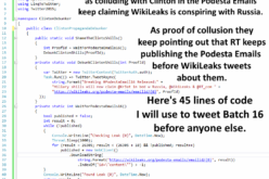 Debunking Hillary in 140 Characters PropagandaDebunker.ShameTheClintonShills() – WikiLeaks Podesta Emails
