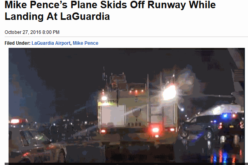 Trump VP's Plane Skids Off Runway – LaGuardia  Airport Shutdown