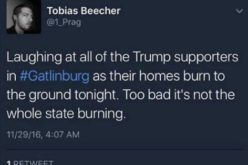 Trump Protestors Cheer, Laugh At Trump Supporters' Homes Burning In Tennessee