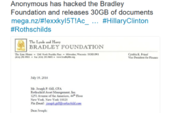 30GB Bradley Foundation Data Hack Reveals $150 Million Hillary Campaign Donation