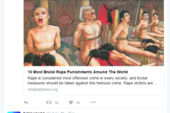 Media Attempts To Normalize PizzaGate Pedophilia With SexyDisney Trend on Twitter