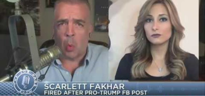 Reporter Fired For Supporting Trump Win On Facebook – Show Your Support