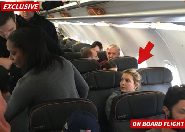 """A Jet Blue passenger has been kicked off a plane this morning after """"accosting"""" Ivanka Trump and """"verbally berating her and 'jeering' at her 3 kids."""""""
