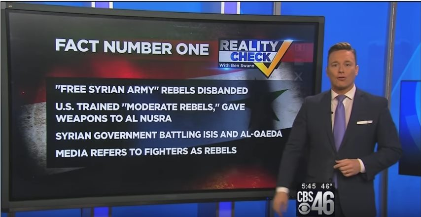 CBS reveals facts about Syria war the National Media is hiding from the public