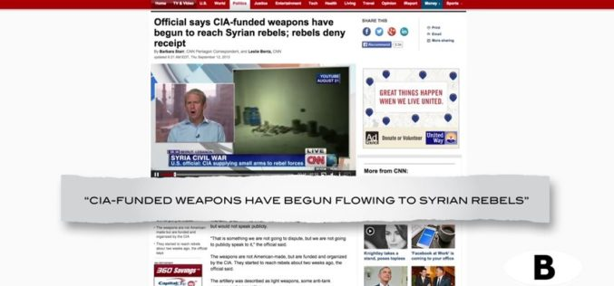 CBS Reveals The True Origin of ISIS