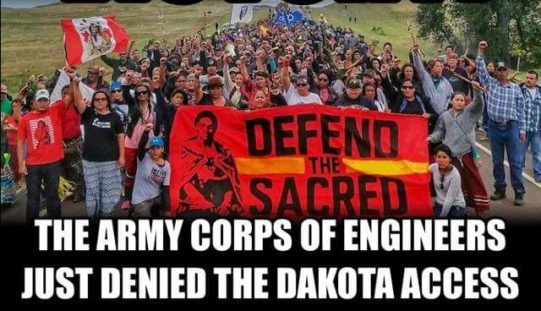 Obama Orders Army Corps To Block DAPL Access
