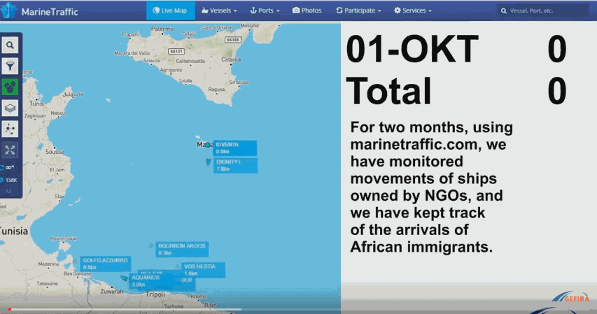 NGOs are smuggling migrants into Europe on an Industrial scale using globalist funded human trafficking network.