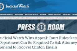 US Appeals Court Revives Hillary Clinton Email Suit