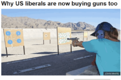 Suddenly Liberals Are The Ones Stockpiling Guns, Food And Supplies