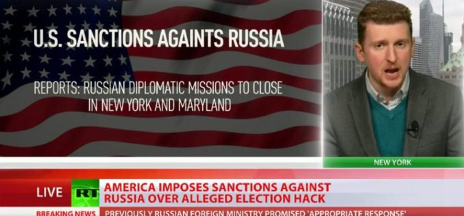 "US Retaliates Against Russia For ""Hacking The Election"": Expels 35 Diplomats, Unveils Sanctions"