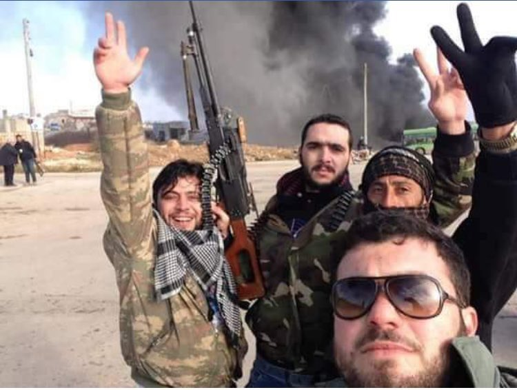 Terrorists take selfies after attacking buses