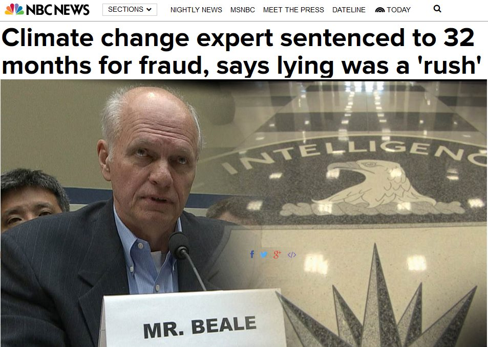 Top EPA Climate Change Expert Sentenced to 32 months for Fraud