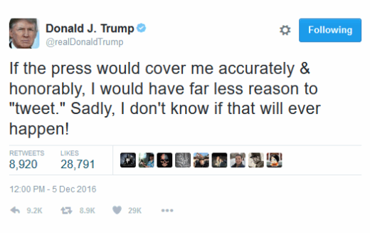 Donald Trump Explains Why He Tweets So Much