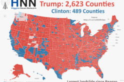 Trump Won 2,623 Counties – More Than Any Candidate Since Reagan 32 Years Ago
