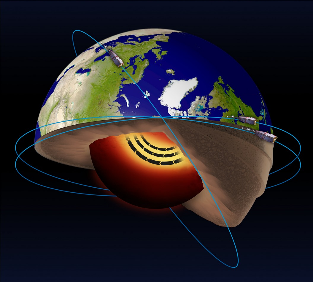 An accelerating high-latitude jet stream has been found in Earth's outer molten core.