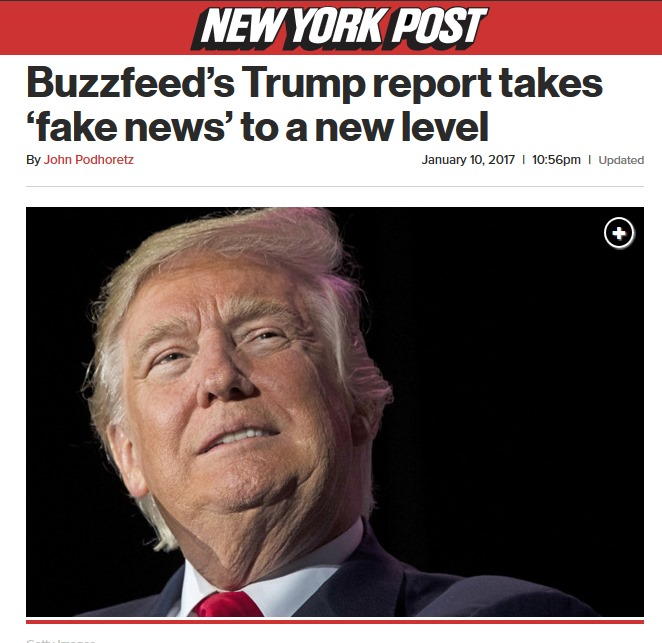 BuzzFeed Report Takes Fake News To A Whole New Level
