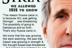 Kerry Admits US Let ISIS Grow To Force Assad To Negotiate Over Syria